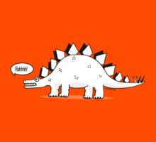 Cartoon Stegosaurous Kids Tee