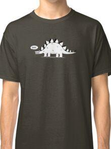Cartoon Stegosaurous Classic T-Shirt
