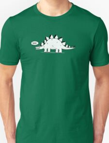Cartoon Stegosaurous Unisex T-Shirt
