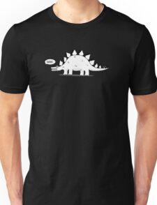 Cartoon Stegosaurous Unisex T-Shirt