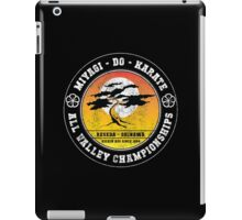 Karate Kid - Mr Miyagi Do Black Distress Variant iPad Case/Skin
