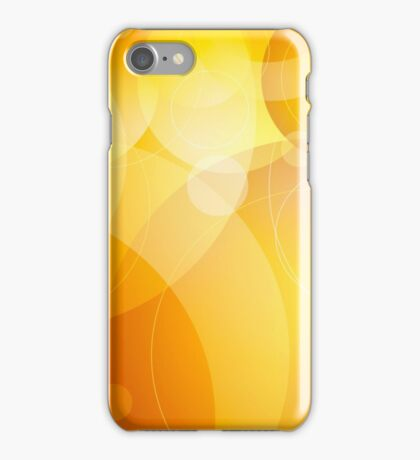 Abstract background lens flares iPhone Case/Skin