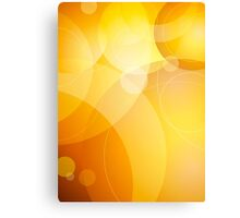 Abstract background lens flares Canvas Print