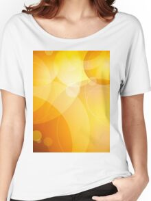 Abstract background lens flares Women's Relaxed Fit T-Shirt