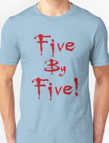 Buffy - Five by Five T-Shirt