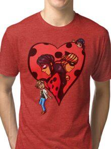 Be my Super Valentine! Tri-blend T-Shirt