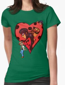 Be my Super Valentine! Womens Fitted T-Shirt