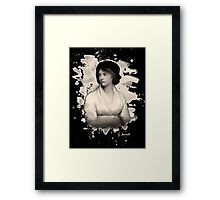 Mary Shelley (Wollstonecraft) Tribute Framed Print