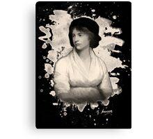 Mary Shelley (Wollstonecraft) Tribute Canvas Print