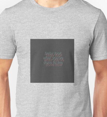 Stockholm Syndrome Lyrics Unisex T-Shirt
