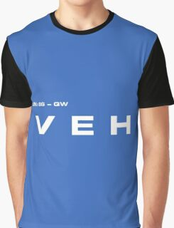 2001 A Space Odyssey - HAL 900 VEH System Graphic T-Shirt
