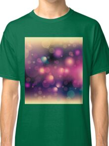 Abstract Space background for design Classic T-Shirt