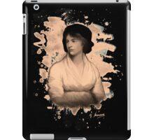 Mary Shelley (Wollstonecraft) Tribute (burnt) iPad Case/Skin