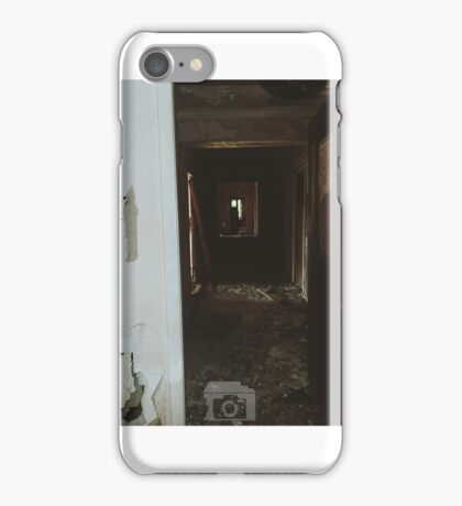 Urbex Corridor  iPhone Case/Skin