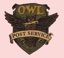 Owl Postal Service One Piece - Long Sleeve