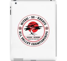 Karate Kid - Mr Miyagi Do Red Variant iPad Case/Skin