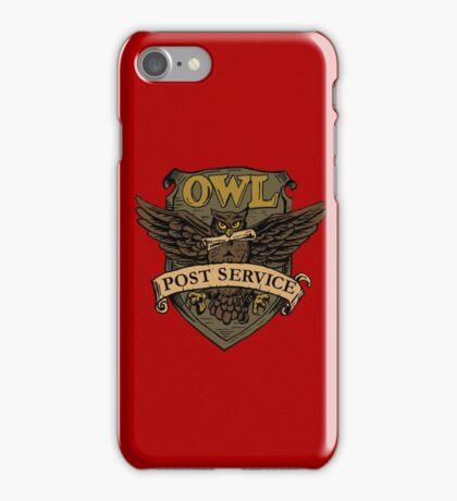 Owl Postal Service iPhone Case/Skin