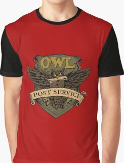 Owl Postal Service Graphic T-Shirt