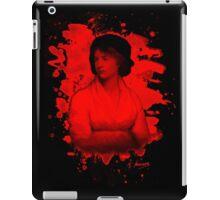 Mary Shelley (Wollstonecraft) Tribute (red) iPad Case/Skin