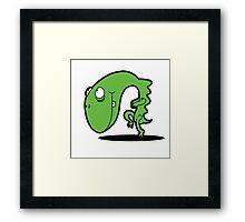 Creeping Lizard at Dusk Framed Print