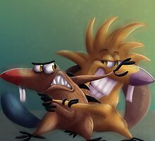 The Angry Beavers - Remake by FaunaCreations