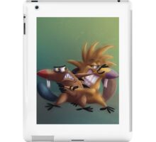 The Angry Beavers - Remake iPad Case/Skin