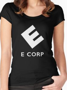 E corp Women's Fitted Scoop T-Shirt