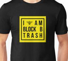 I am Block B trash - yellow. Unisex T-Shirt
