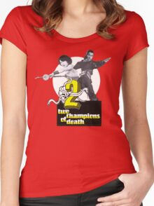 Champions of Death Women's Fitted Scoop T-Shirt