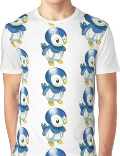 Piplup Graphic T-Shirt