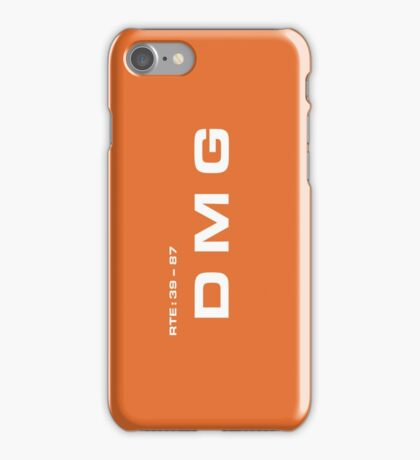 2001 A Space Odyssey - HAL 9000 DMG System iPhone Case/Skin