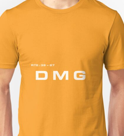 2001 A Space Odyssey - HAL 9000 DMG System Unisex T-Shirt