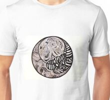 Cloudy moon Unisex T-Shirt