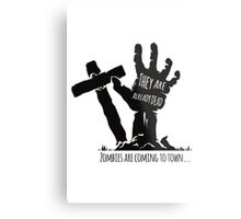 They are already dead Metal Print