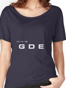 2001 A Space Odyssey - HAL 9000 GDE System Women's Relaxed Fit T-Shirt