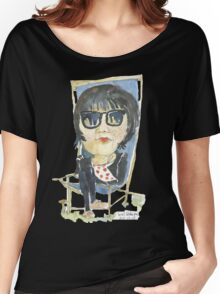 Girl in the city park Women's Relaxed Fit T-Shirt