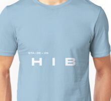 2001 A Space Odyssey - HAL 9000 HIB System Unisex T-Shirt