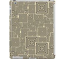 seamless patterns Black white iPad Case/Skin