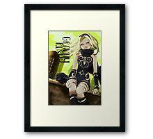 GRAVITÉ Framed Print