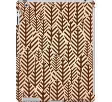 Seamless black and white leaf pattern iPad Case/Skin