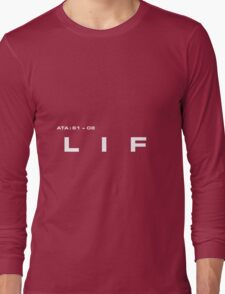 2001 A Space Odyssey - HAL 900 LIF System Long Sleeve T-Shirt