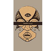 Trippy Ville Tribe Photographic Print