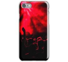 Red Concert peoples iPhone Case/Skin