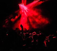 Red Concert peoples by Maxiim