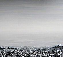 the beach : still life II by Martin Rolt
