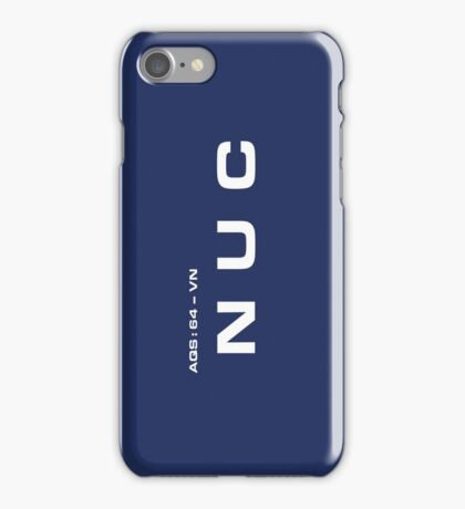 2001 A Space Odyssey - HAL 900 NUC System iPhone Case/Skin