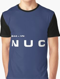 2001 A Space Odyssey - HAL 900 NUC System Graphic T-Shirt