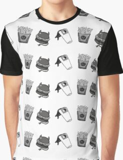 Die For Fast Food Graphic T-Shirt