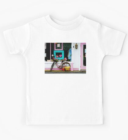 Bicycle by Antique Shop Kids Tee
