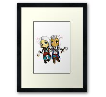 Edward and Connor Kenway Framed Print
